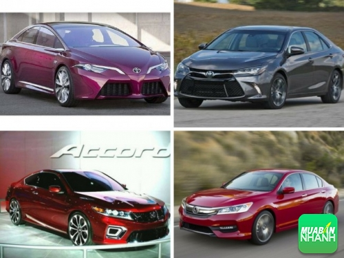 Nên mua Toyota Camry 2017 hay Honda Accord 2017?