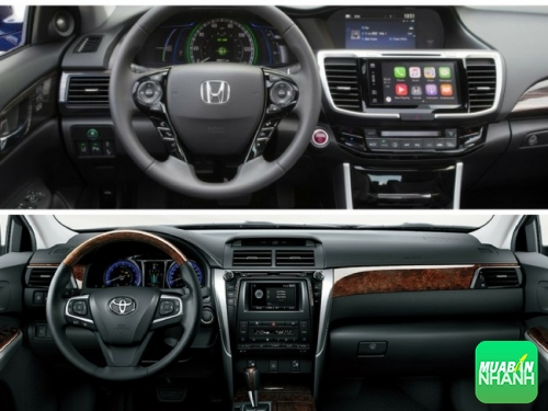 Nên mua Toyota Camry 2017 hay Honda Accord 2017
