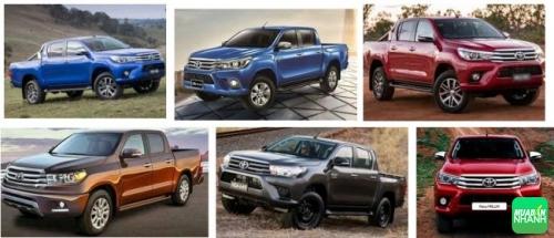 Chi tiết giá xe Toyota Hilux 2017 về Việt Nam