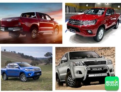 Ngoại thất Toyota Hilux 2017