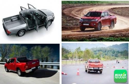Thiết kế khung gầm và hệ thống treo Toyota Hilux 2017