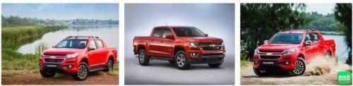 Ngoại thất Chevrolet Colorado 2017