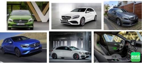 Giá xe Mercedes A200 2017 - xe nhỏ hạng sang giá tốt