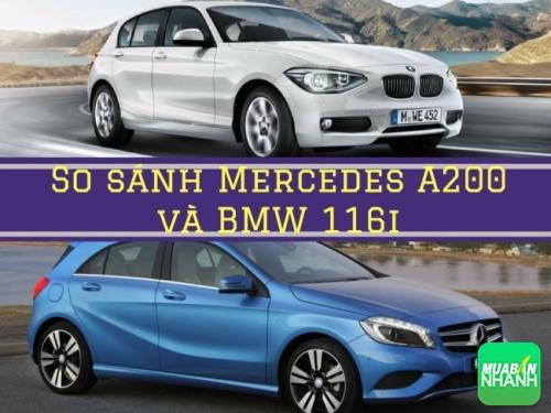 So sánh Mercedes A200 và BMW 116i: hai mẫu xe nhỏ cùng so kè tại Việt Nam