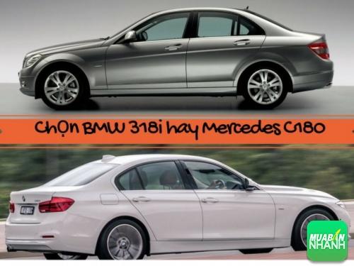 Yêu thích xe sang chọn BMW 318i hay Mercedes C180 cũ?