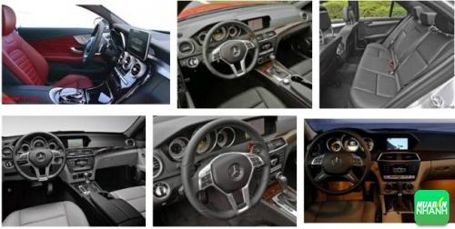 Mercedes-Benz C250 AMG sở hữu không gian nội thất rộng rãi, thoải mái