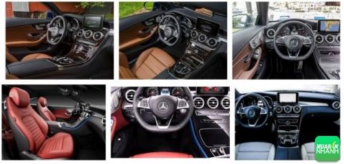 Nội thất Mercedes C300 AMG 2017 sang trọng