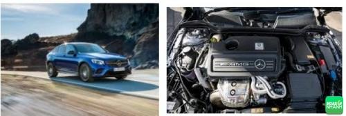 Trang bị động cơ và vận hành trên Mercedes-AMG GLA45