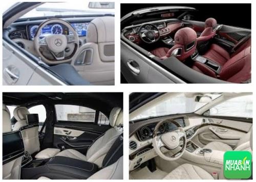 Thiết kế nội thất Mercedes S500L