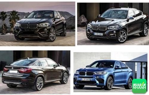 Thiết kế ngoại thất BMW X6 2017
