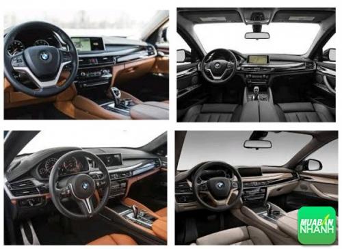 Thiết kế nội thất BMW X6 2017