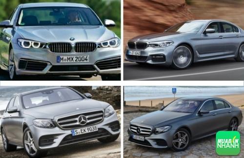 So sánh về thiết kế bmw 520i 2017 và mercedes e250 2017
