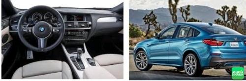 thiết kế BMW X4 2017