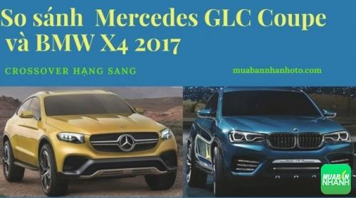 So sánh 2 đối thủ nặng ký Mercedes GLC Coupe và BMW X4 2017 phân khúc crossover hạng sang
