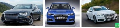 ngoại thất Audi A4 2017