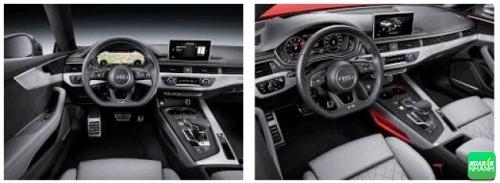 nội thất Audi A5 Sportback 2017