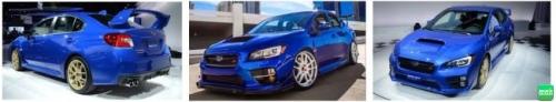 ngoại thất Subaru WRX STI 2017