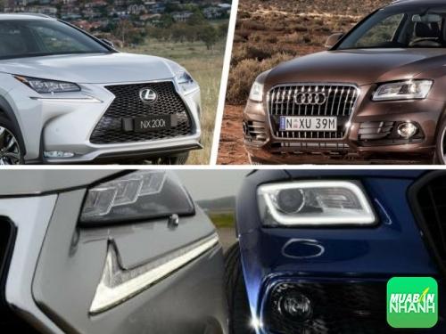 thiết kế Lexus NX 200T và Audi Q5 2017