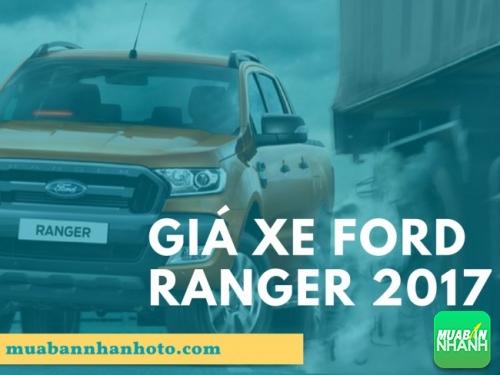 Ford Ranger 2017 giá bao nhiêu