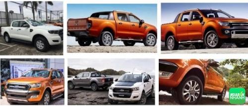 Thiết kế ngoại thất ford ranger 2017 nội bật so với các đối thủ