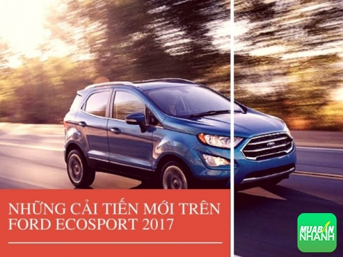 Những cải tiến mới trên Ford Ecosport 2017