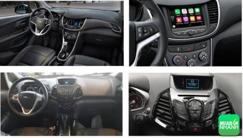 Nên chọn mua Chevrolet Trax 2017 hay Ford EcoSport 2017