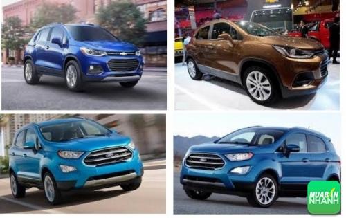 Nên chọn mua Chevrolet Trax 2017 hay Ford EcoSport 2017?