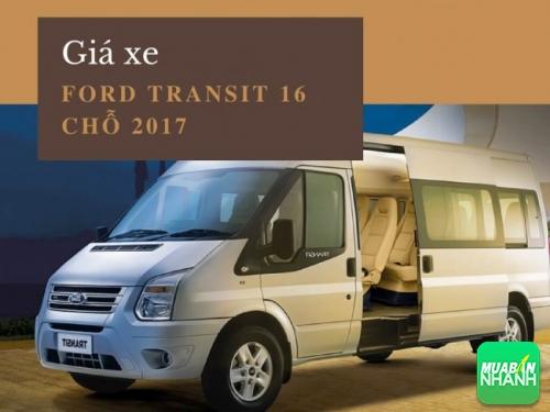 Giá xe Ford Transit 16 chỗ 2017
