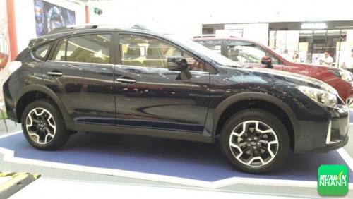 Subaru XV 2017 có kiểu dáng thể thao gọn gàng với kích thước 4.450 x 1.780 x 1.615 (DxRxC mm).