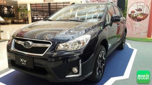 Các chi tiết ngoại thất được nâng cấp gồm hốc đèn sương mù có dải đèn LED chạy ban ngày hình chữ L, dàn đèn pha thiết kế mới có thêm dải đèn LED định vị hình chữ C nằm ngang đặc trưng của Subaru.
