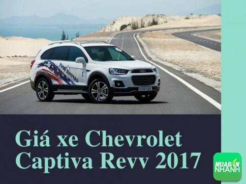 Giá xe Chevrolet Captiva Revv 2017