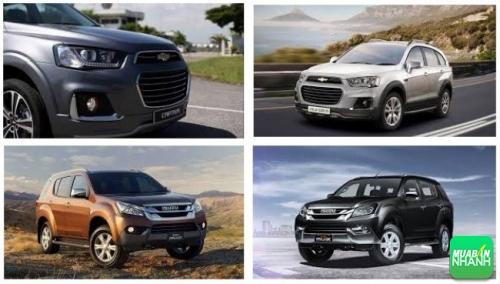 So sánh xe Chevrolet Captiva Revv 2017 và Isuzu MU-X 2017