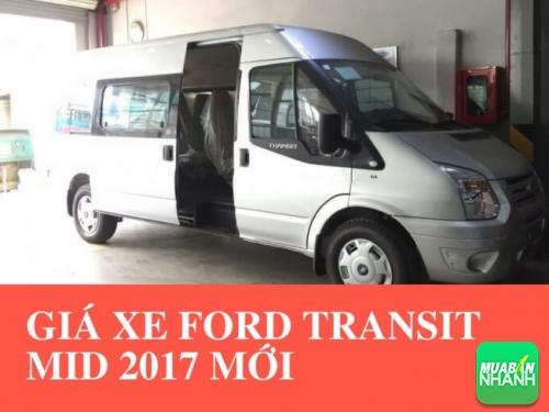 Giá xe Ford Transit Mid 2017 mới