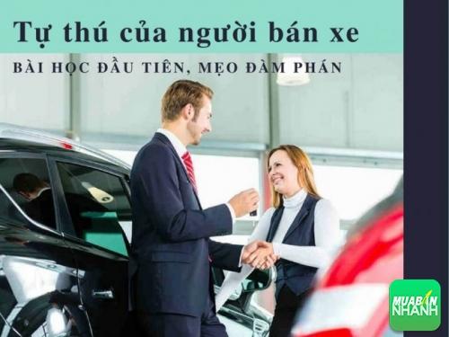 Tự thú của người bán xe: Bài học đầu tiên, mẹo đàm phán