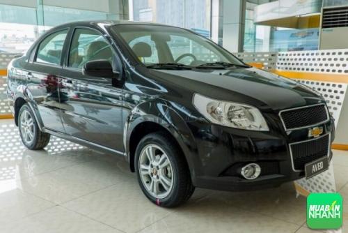 Ngoại Thất Xe Chevrolet Aveo LTZ 2017