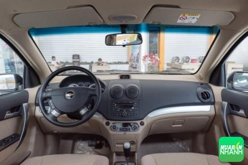 Nội Thất Xe Chevrolet Aveo LTZ 2017
