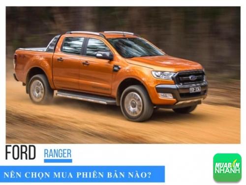 Ford Ranger 2017, nên chọn mua phiên bản nào?