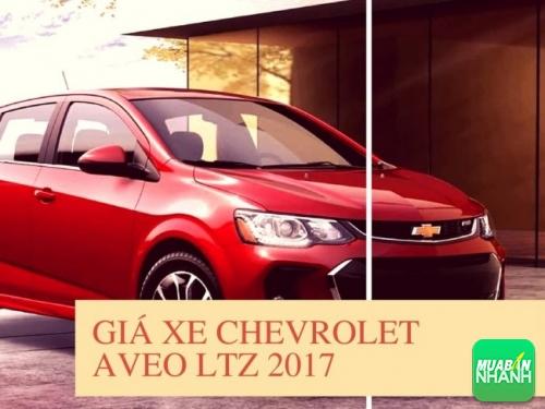 Giá xe Chevrolet Aveo LTZ 2017