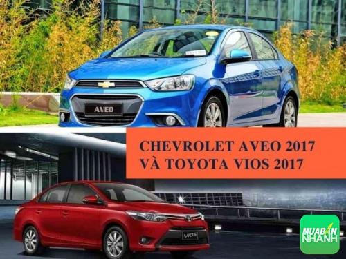 So sánh Chevrolet Aveo 2017 và Toyota Vios 2017