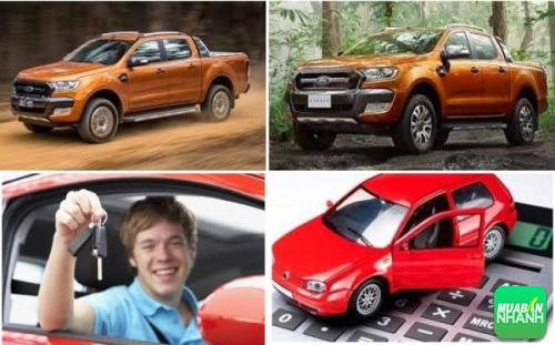 Mua xe Ford Ranger trả góp