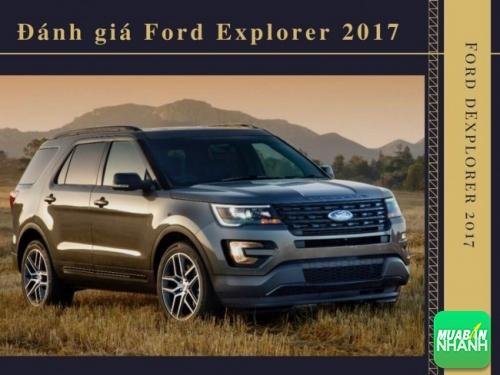 Đánh giá Ford Explorer 2017