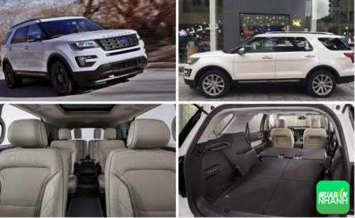Giá xe Ford Explorer 2017 Limited