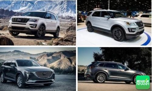 So sánh xe Ford Explorer 2017 và Mazda CX-9 2017