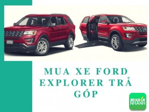 Mua xe Ford Explorer trả góp