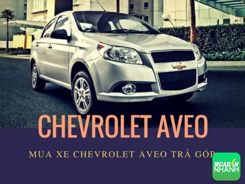 Mua xe Chevrolet Aveo trả góp