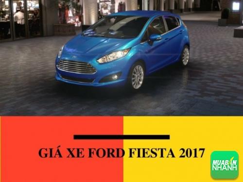Giá xe Ford Fiesta 2017