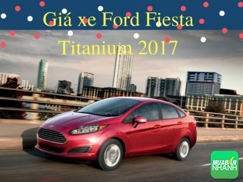 Giá xe Ford Fiesta Titanium 2017