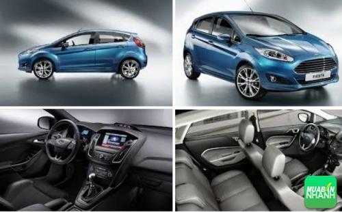 Ngoại nội thất Ford Fiesta 2017
