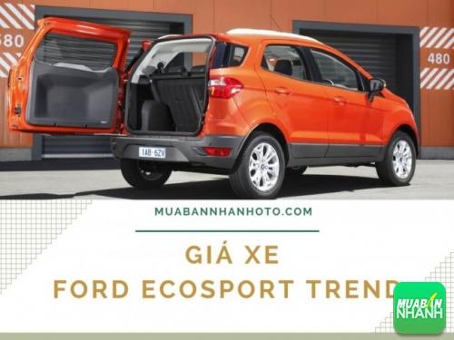 Giá xe Ford Ecosport Trend bao nhiêu?