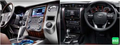 So sánh Toyota Prado 2018 và Toyota Fortuner 2018 về vận hành
